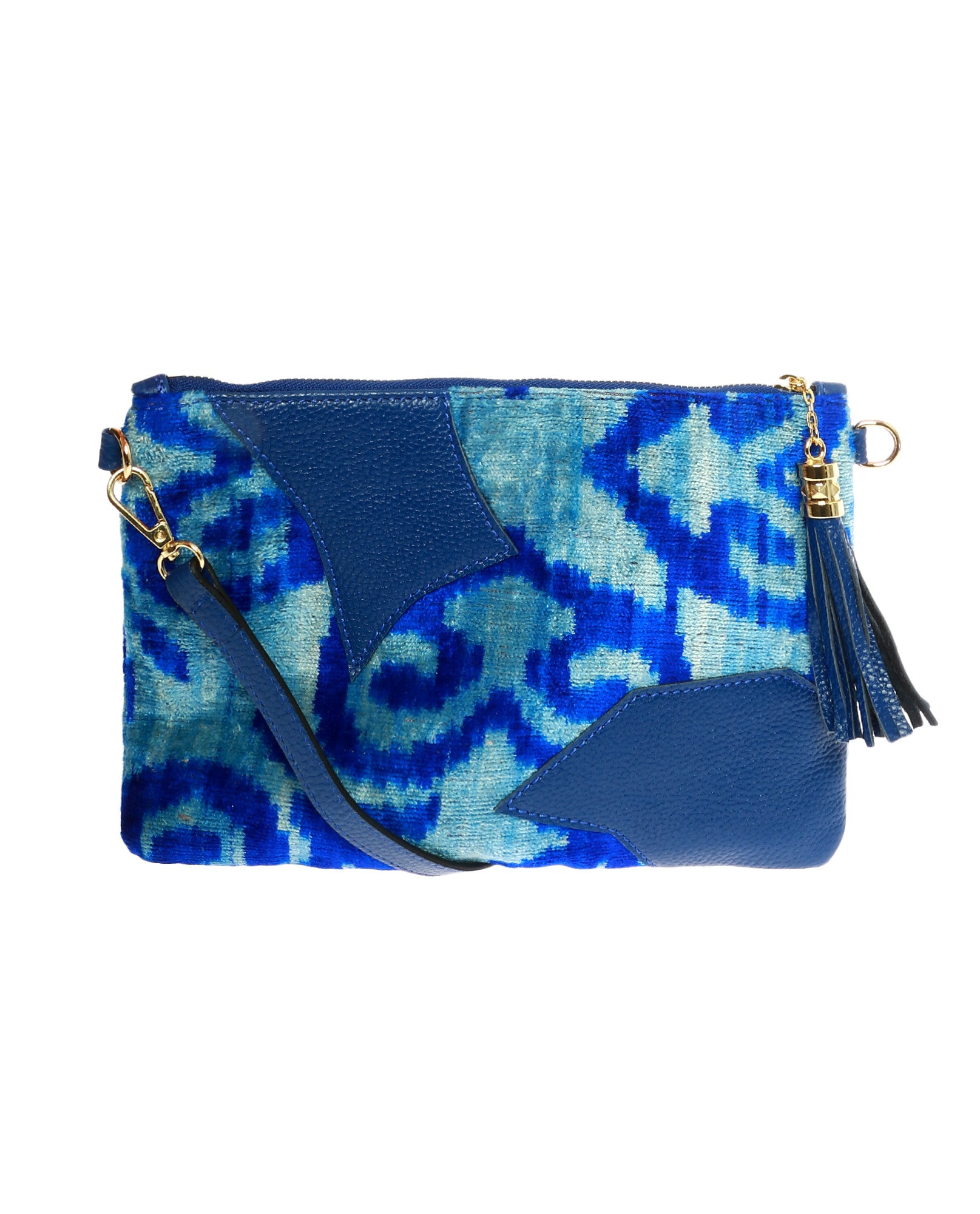 Electric Blue Crossbody