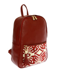 French Red Backpack