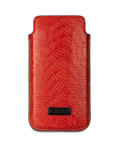 Red Zander Fish Leather Iphone 5 Case