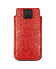 Creel Leather - Red Zander Fish Leather Iphone 5 Case - The Velvet Closet - 2