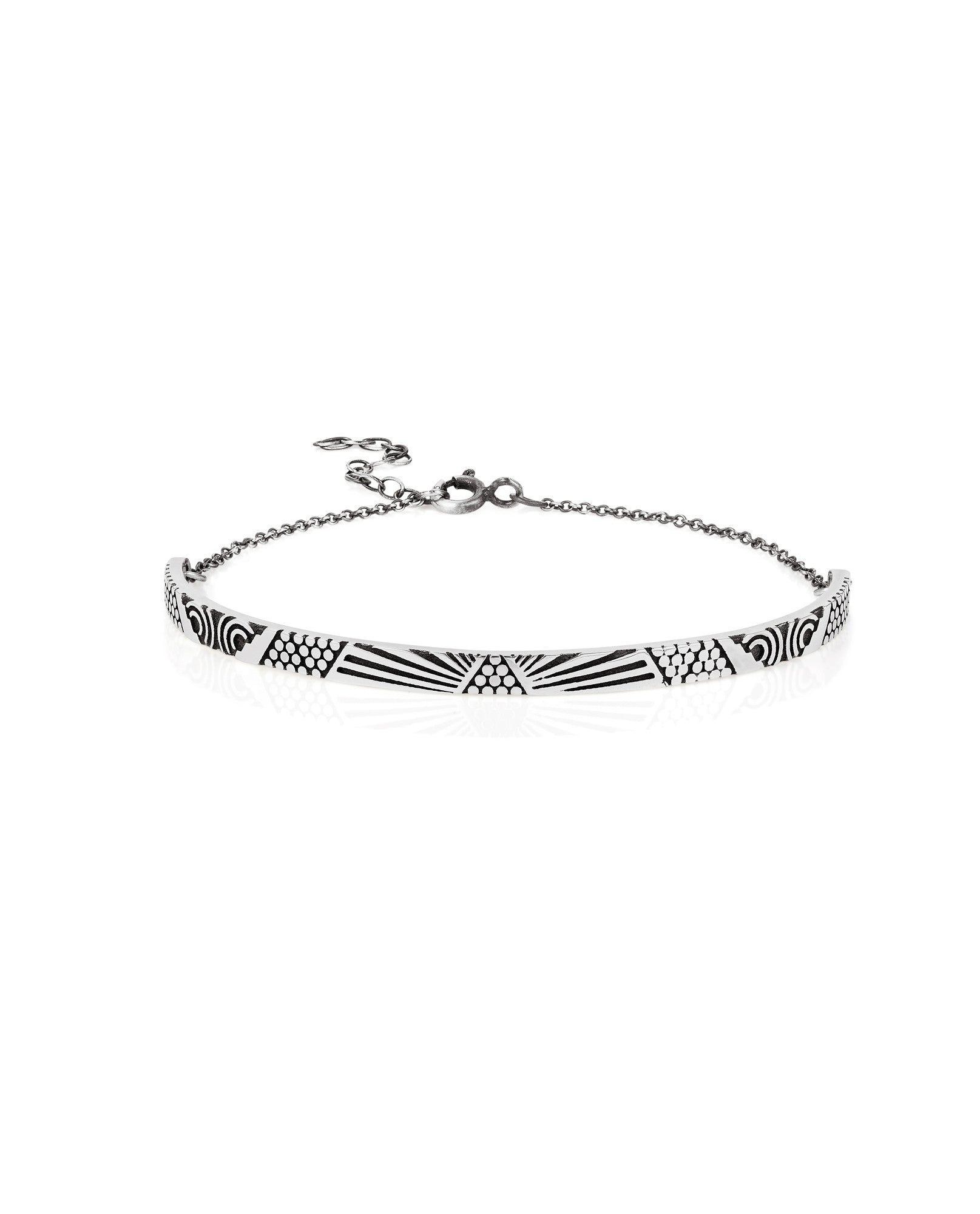 Lee Renée - Peruvian Bracelet - Silver - The Velvet Closet - 1
