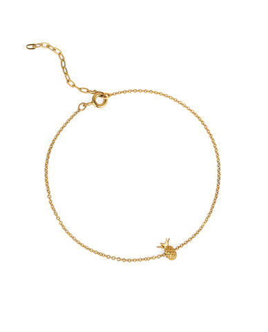 Pineapple Bracelet – Gold Vermeil
