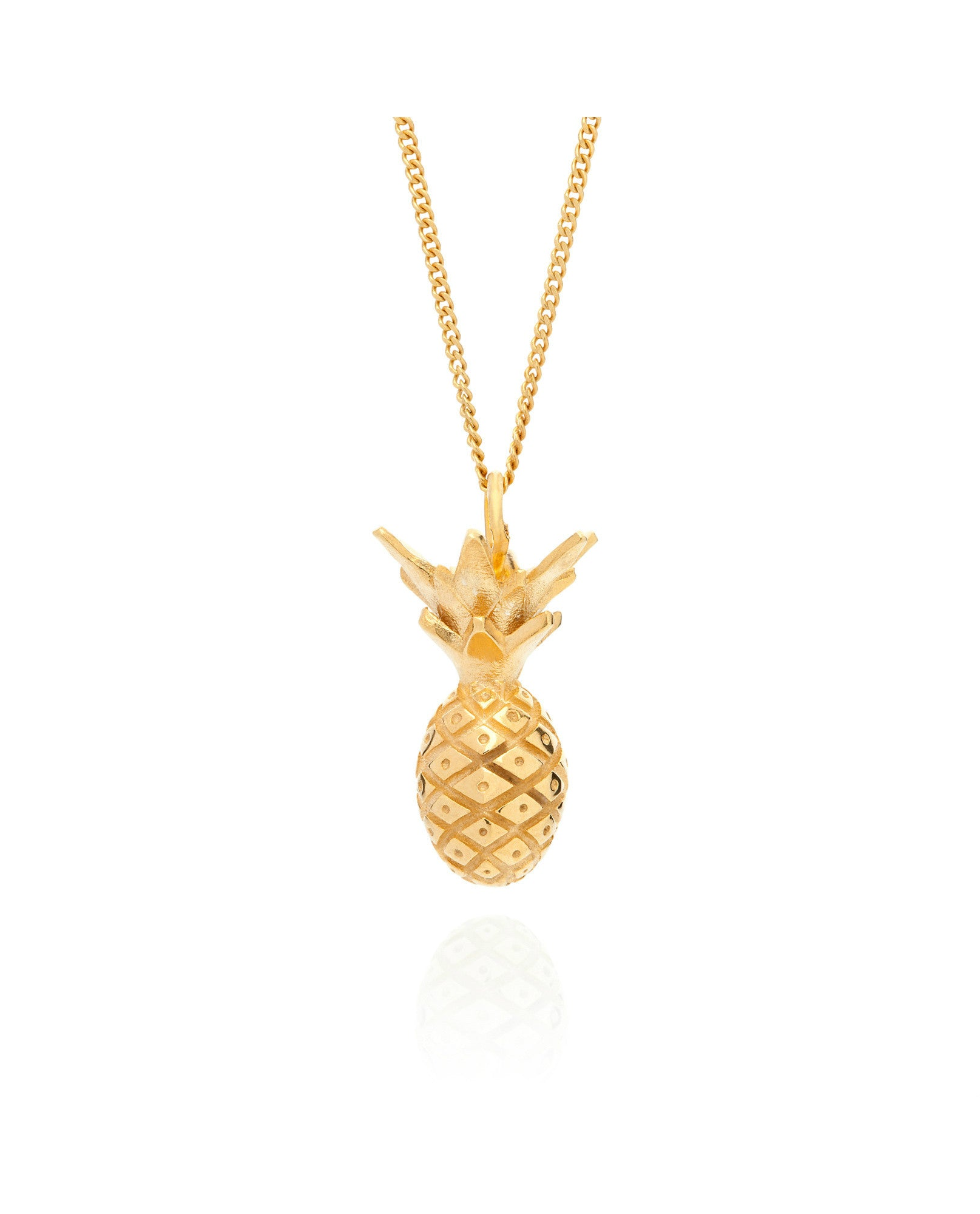 Lee Renée - Pineapple Necklace - The Velvet Closet