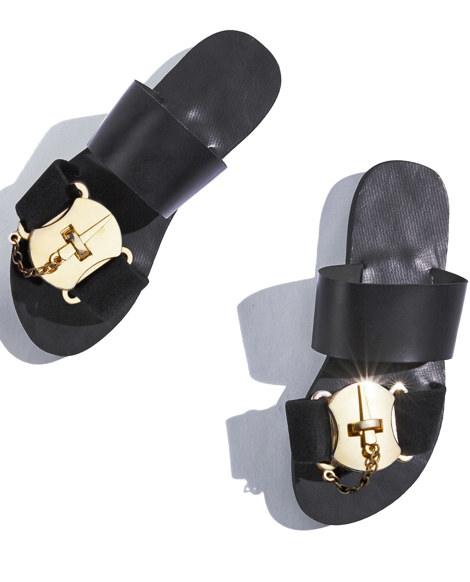 Mifani - Black Slide Sandal - The Velvet Closet