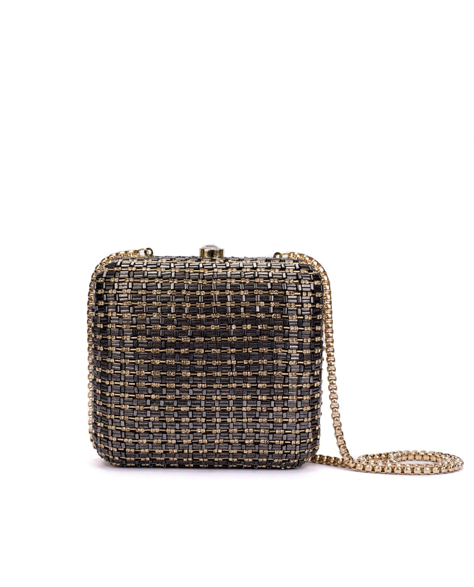 ruche & hues - Metallic Bling Minaudière (Limited Edition) - The Velvet Closet - 1