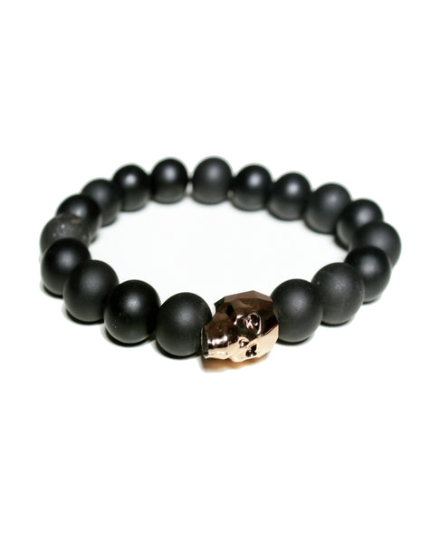 Noir Rose Gold Bracelet