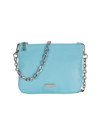 Lily Bluebell Leather Pouch Handbag
