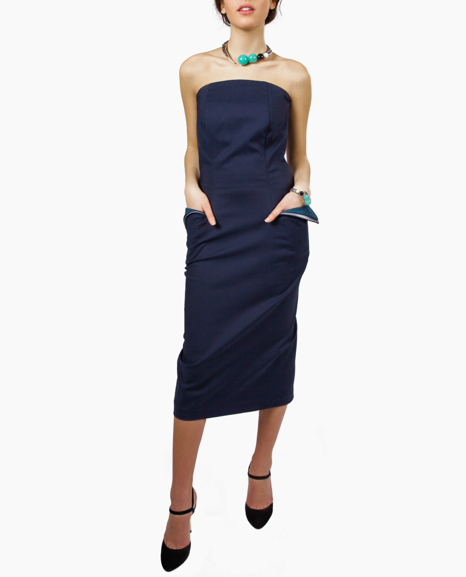 Scarlett Smith - Fold Wing Dress - The Velvet Closet - 1