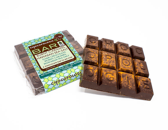 Burnt Caramel Hawaiian Sea Salt Bar