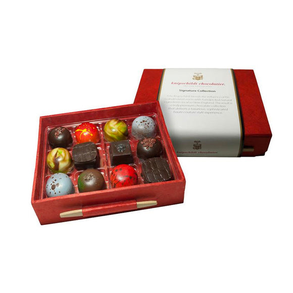Medium Signature Collection - 12 Piece - House of Knipschildt Artisan Chocolates