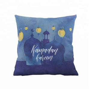 'Ramadan Silhouette' Pillowcase
