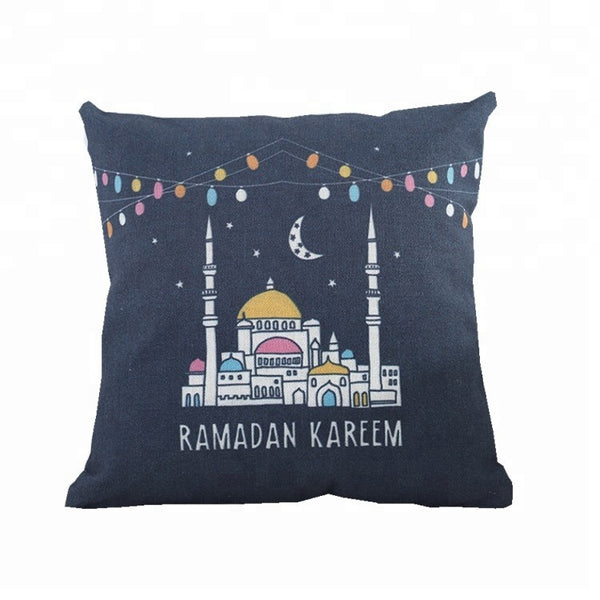 'Colourful Masjid' Ramadan Pillowcase