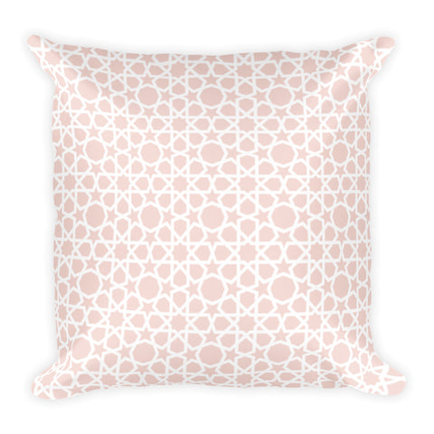 'Tickled Pink in Morocco' Pillowcase