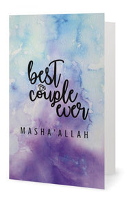 Best Couple Ever Card