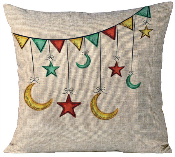 'Ramadan Garland' Pillowcase