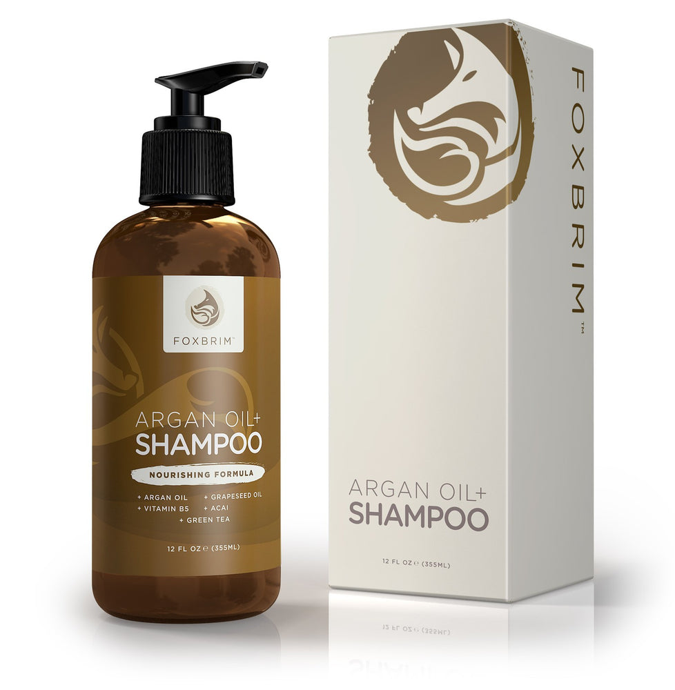 Argan Oil + Shampoo With B5