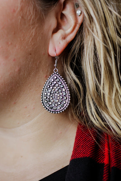 South Of The Border Teardrop Earrings