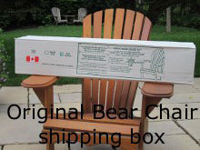 Adirondack Chair Shipping Box
