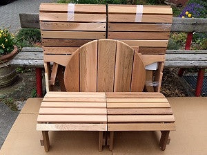 Adirondack Chair Assembly from Ontaria Germany