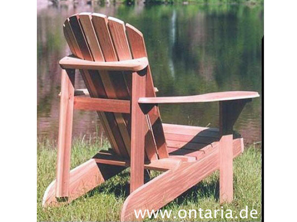 la chaise adirondack originale ontaria ltd. Black Bedroom Furniture Sets. Home Design Ideas