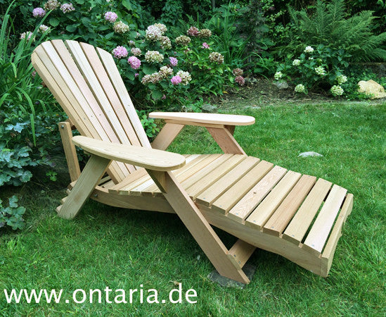 Adirondack Deck Chair - Bear Chair Lounger & Adirondack Deck Chair - Bear Chair Lounger - ONTARIA-EU