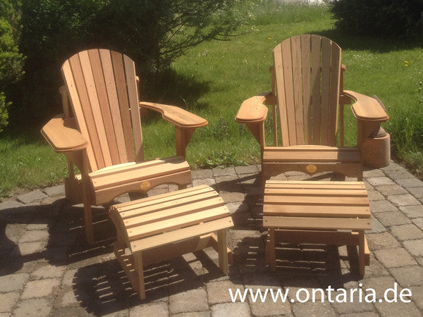 Bon Adirondack Chairs, Original Bear Chairs, Barrel Saunas, Stickley