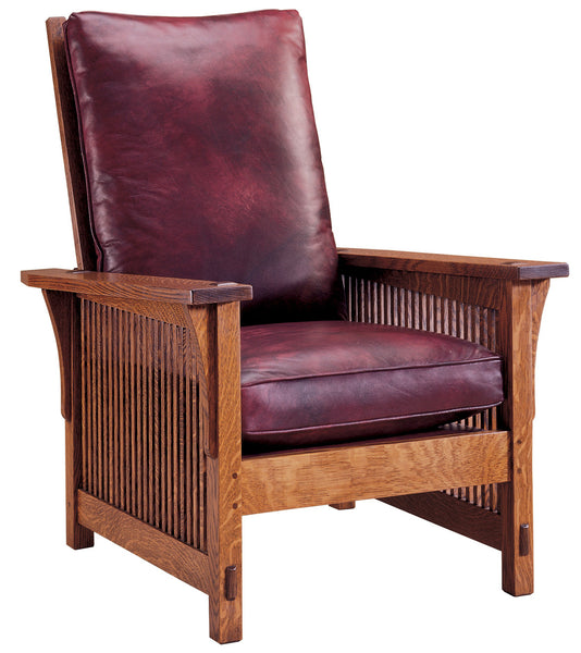Stupendous Stickley 367 Lc Compact Spindle Morris Chair With Loose Cushion Pabps2019 Chair Design Images Pabps2019Com