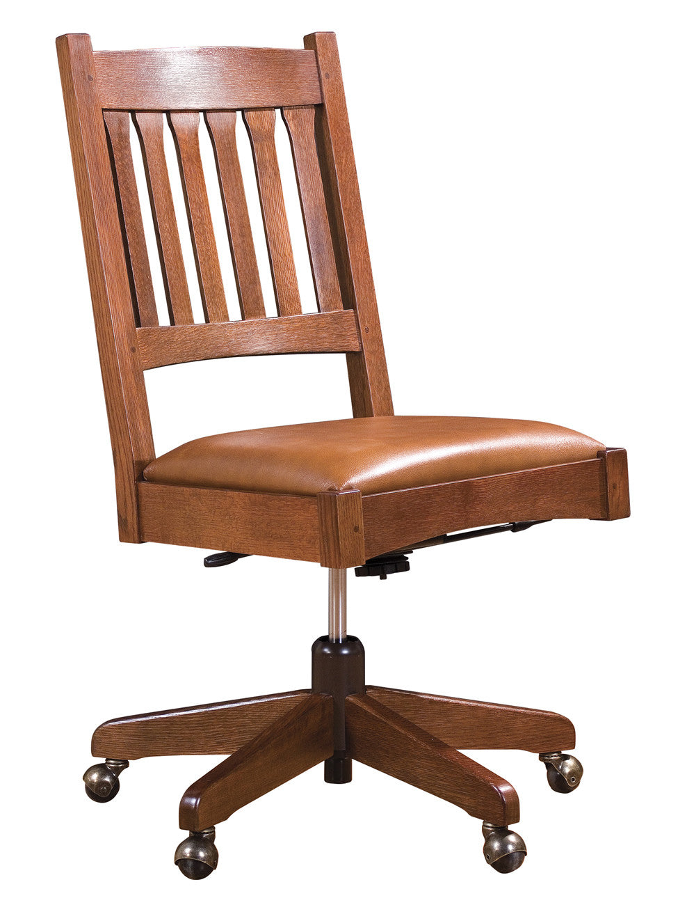 Stickley 325 Armless Swivel Chair Ontaria Ltd