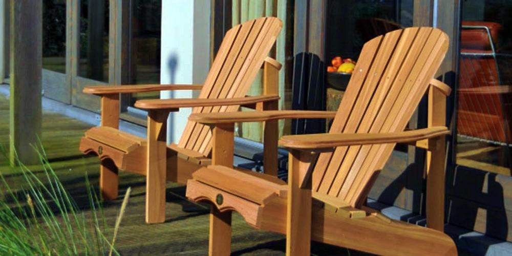 Adirondack Bear Chairs