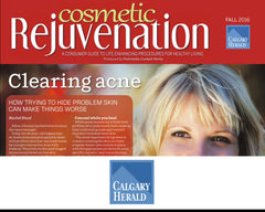 Zyderma: Cosmetic Rejuvination - Clearing Acne in the Calgary Herald