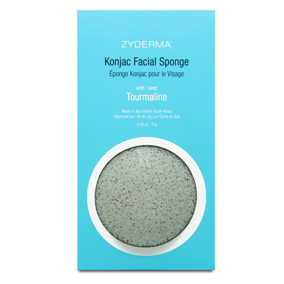 NEW<br>Konjac Facial Sponge<br>with Tourmaline