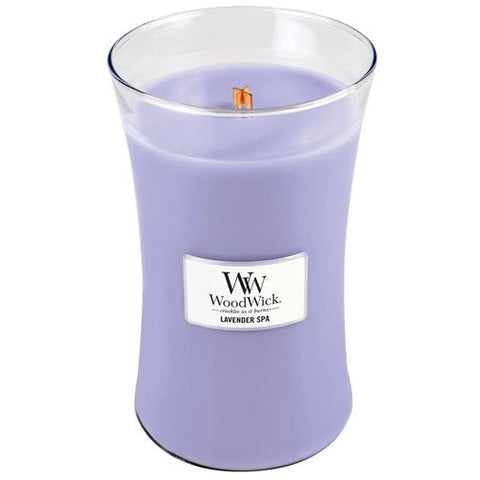 Woodwick Candle 22 Oz. - Lavender Spa