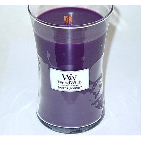 Woodwick Candle 22 Oz. - Spiced Blackberry