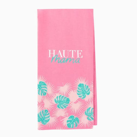 About Face Designs Tea Towel - Haute Mama