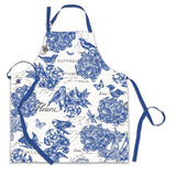 Michel Design Works Chef Apron - Indigo Cotton