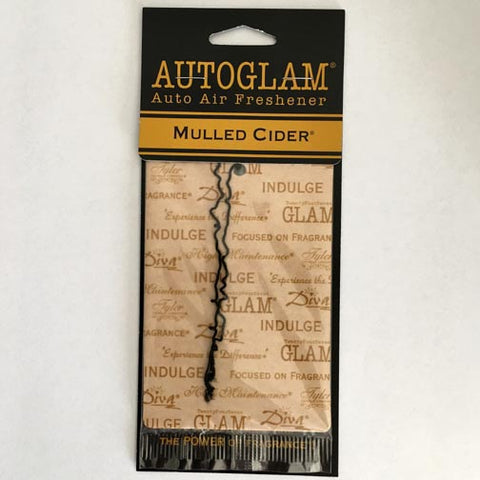 Tyler Candle AUTOGLAM(TM) Auto Air Freshener Set of 6 - Mulled Cider