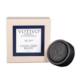 Votivo Aromatic Auto Fragrance No. 19 - Clean Crisp White