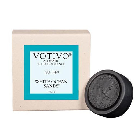 Votivo Aromatic Auto Fragrance No. 58 - White Ocean Sands