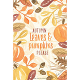 Fresh Scents Scented Sachet Set of 6 - Autumn Leaves