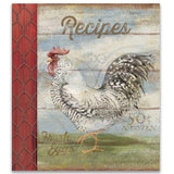 Brownlow Gifts Recipe Binder - Barnyard Rooster