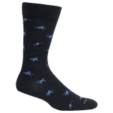 Brown Dog Hosiery Men's Socks - Hyde Navy