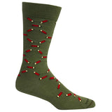 Brown Dog Hosiery Men's Socks - High Brass Sage