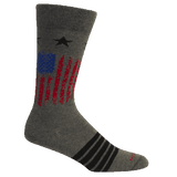 Brown Dog Hosiery Men's Socks - Alamance Grey