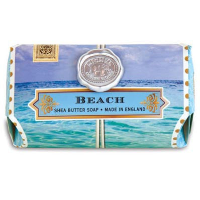 Michel Design Works Bath Soap Bar 9 Oz. Box of 3 - Beach