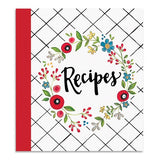Brownlow Gifts Recipe Binder - Happy Kitchen