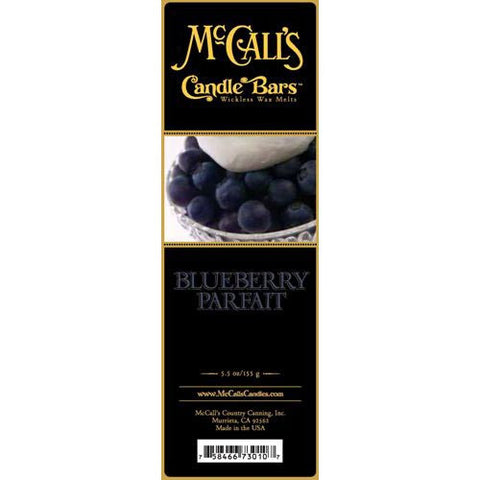 McCall's Candles Candle Bar 5.5 oz. - Blueberry Parfait