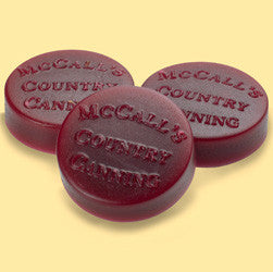McCall's Candles Wax Melt Button Set of 6 - Cinnamon & Cranberries