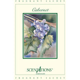 Scentations Fragrance Sachet 1.3 Oz. Set of 6 - Cabernet