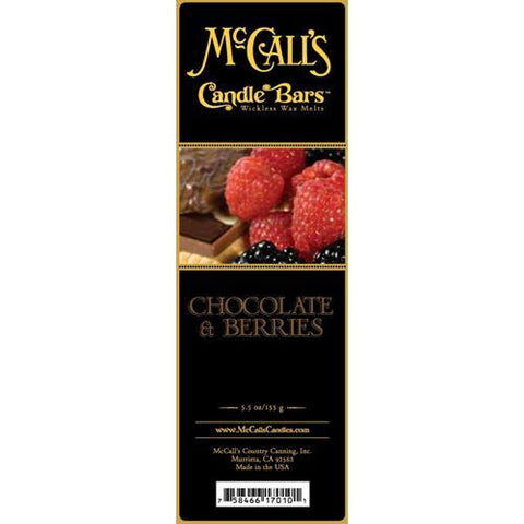 McCall's Candles Candle Bar 5.5 oz. - Chocolate & Berries