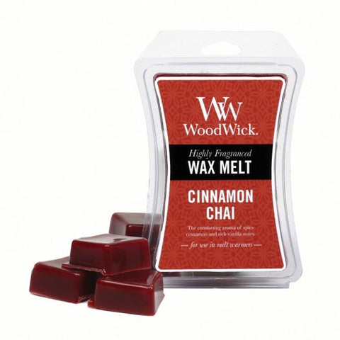 Woodwick Wax Melt 3 Oz. Set of 3 - Cinnamon Chai
